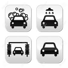 Pictogramme lavage de voitures
